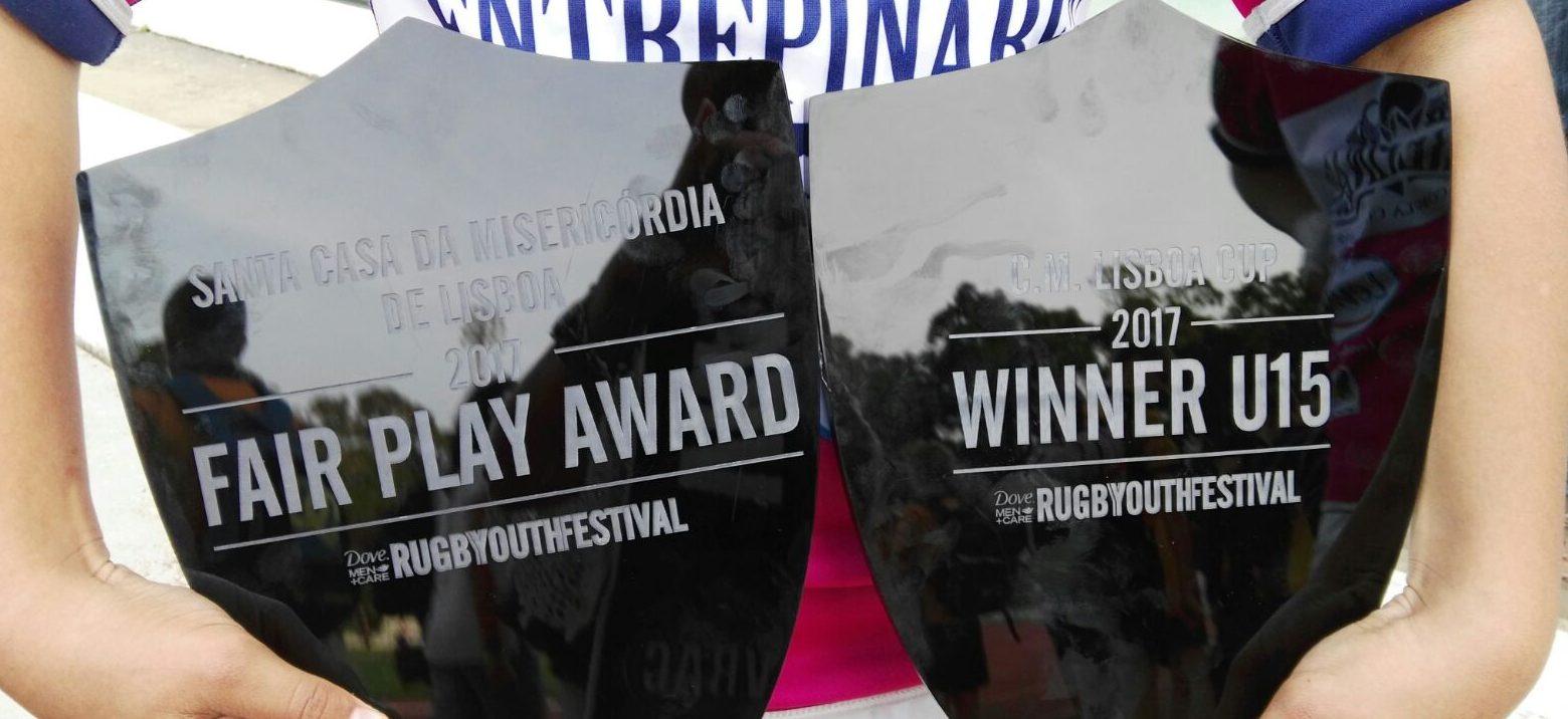 La cantera del VRAC planta cara a los grandes clubes en el Rugby Youth Festival