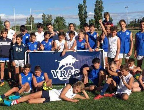 El VRAC clausuró el VRAC Rugby Camp