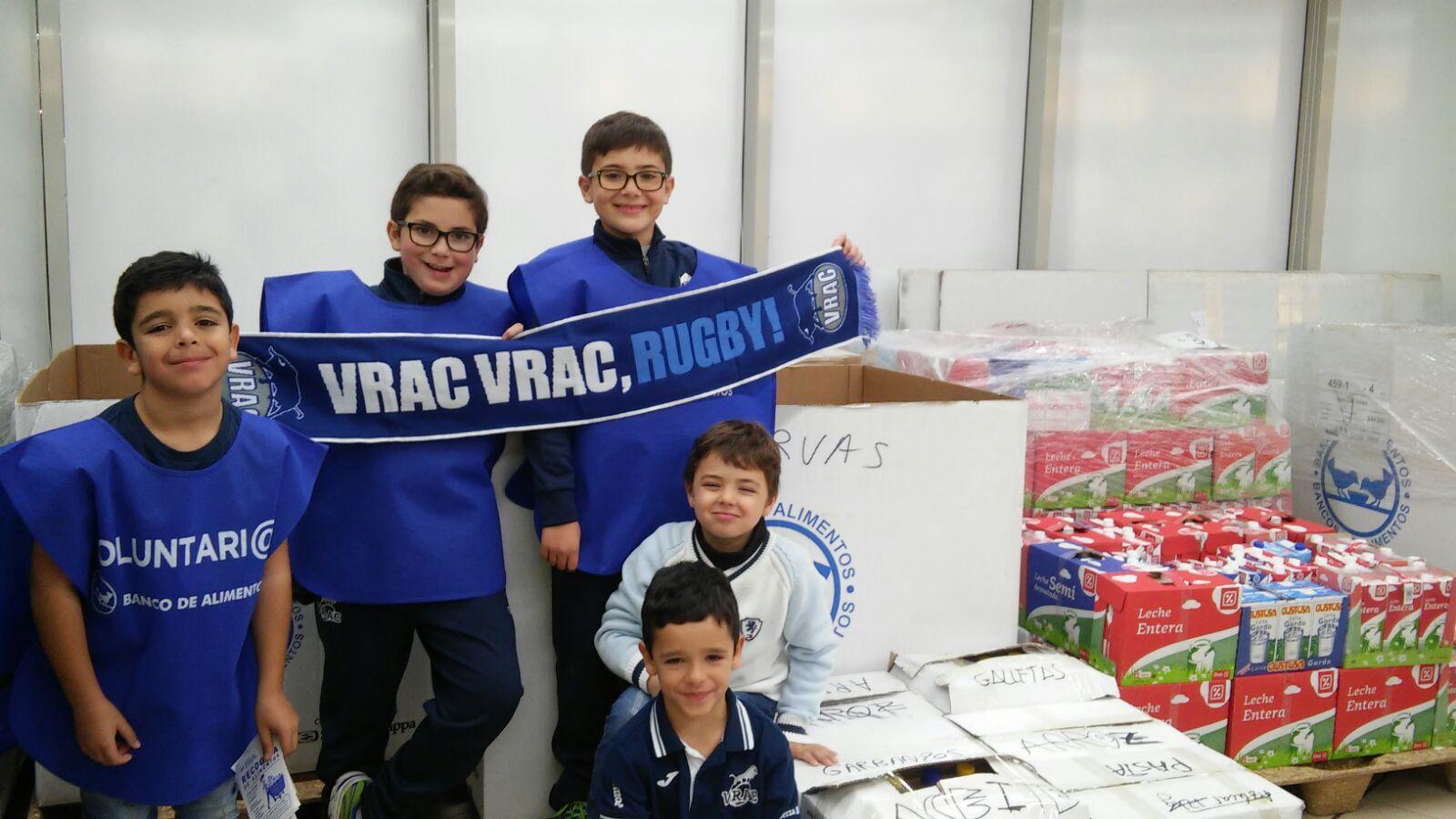 El VRAC colaboró en la gran recogida del Banco de Alimentos