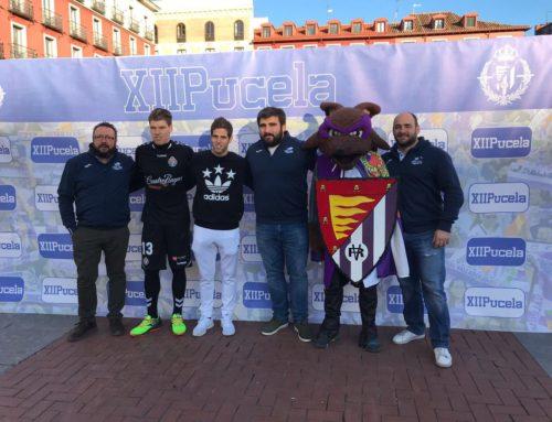 El VRAC, contra la leucemia junto al Real Valladolid