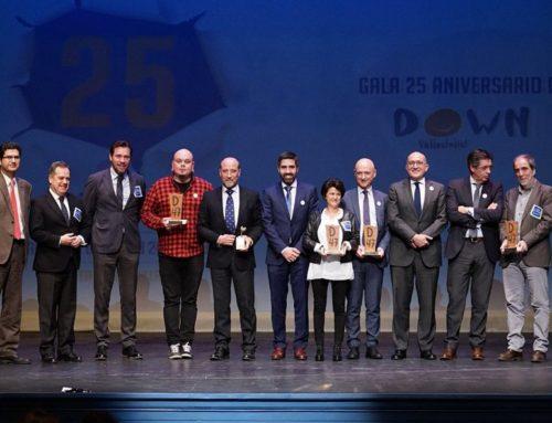 'Down Valladolid' reconoce la labor en inclusión del VRAC