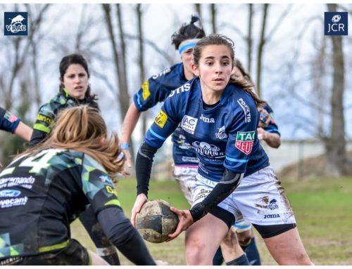 Cristina López, con España Seven Sub 18