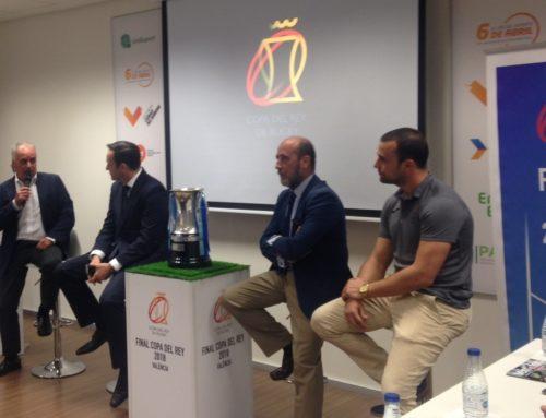 El VRAC, en la presentación de la Final de Copa en Valencia