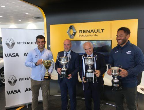 Visita con los cuatro títulos a VASA ARROYO Renault