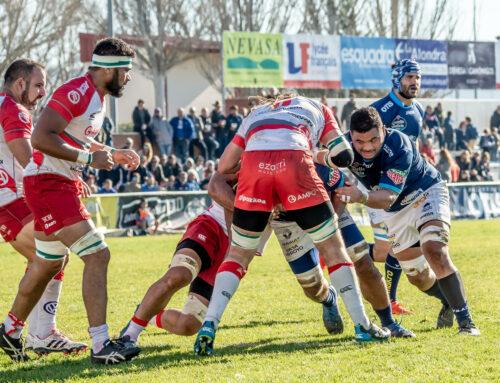 41-12: El VRAC gana al Ordizia y cierra la primera vuelta con 42 puntos