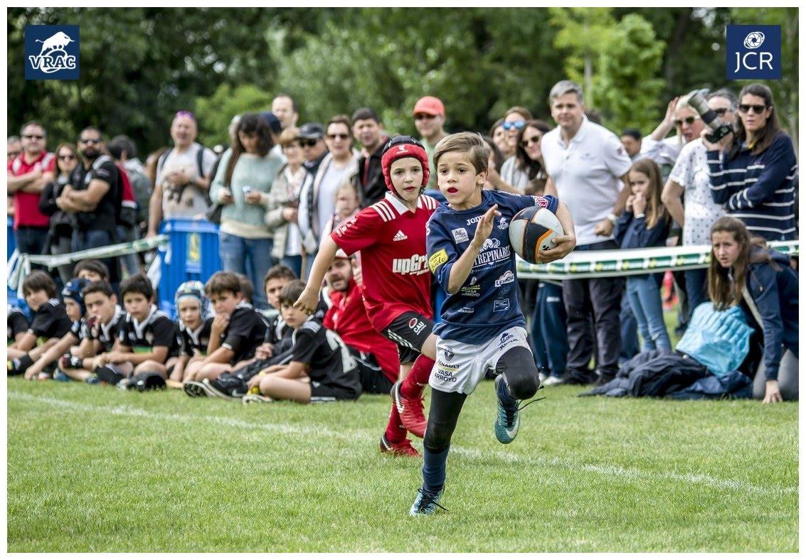 El rugby nacional lució músculo en Valladolid bajó la organización del VRAC