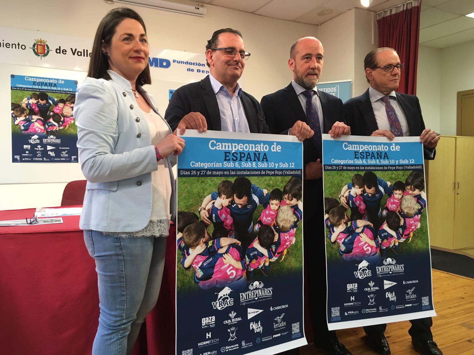 3.000 niños inundarán de rugby Pepe Rojo en el Campeonato de España Sub 6, Sub 8, Sub 10 y Sub 12