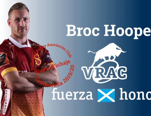 Broc Hooper, nuevo apertura del VRAC