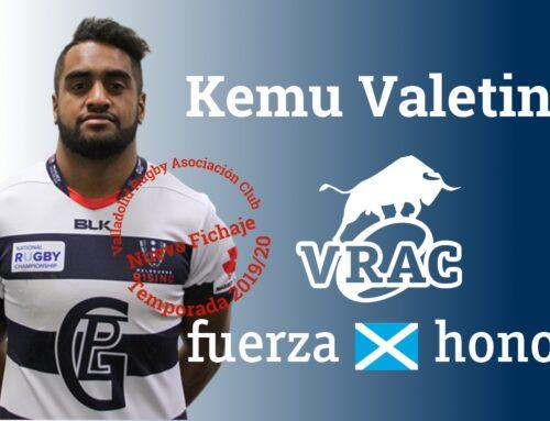 El VRAC incorpora al australiano Kemu Valetini