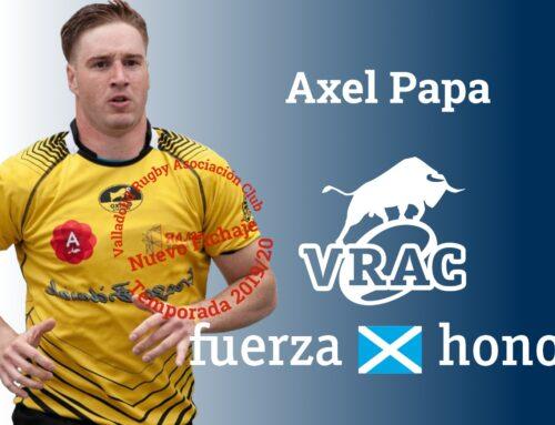 Axel Papa, cuarto fichaje del VRAC Quesos Entrepinares