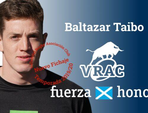 Baltazar Taibo, nuevo refuerzo del VRAC Quesos Entrepinares