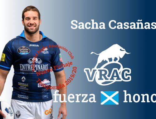 El VRAC  recupera a Sacha Casañas e incorpora a José Díaz