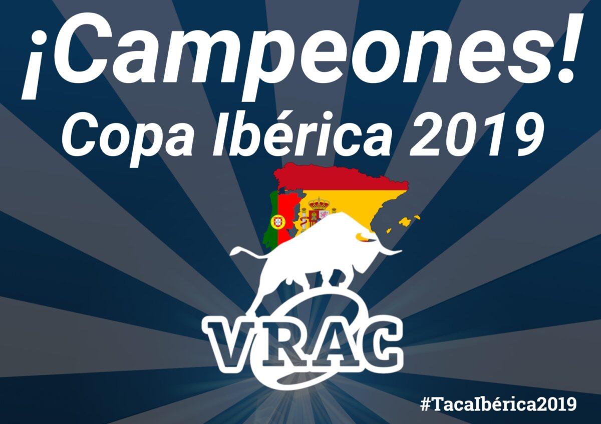 27-28: El VRAC suma su cuarta Copa Ibérica en la última