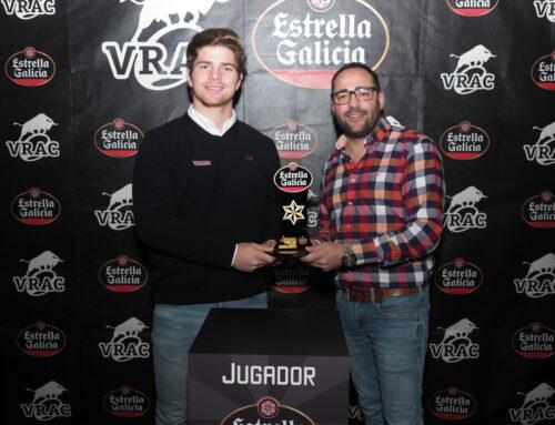 Pedro de la Lastra, jugador Estrella Galicia de diciembre