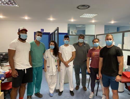 VRAC y El Salvador colaboran con el Hospital Clínico Universitario en un estudio de seroprevalencia de la COVID-19
