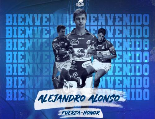Alejandro Alonso jugará en el VRAC durante la temporada 2020/2021