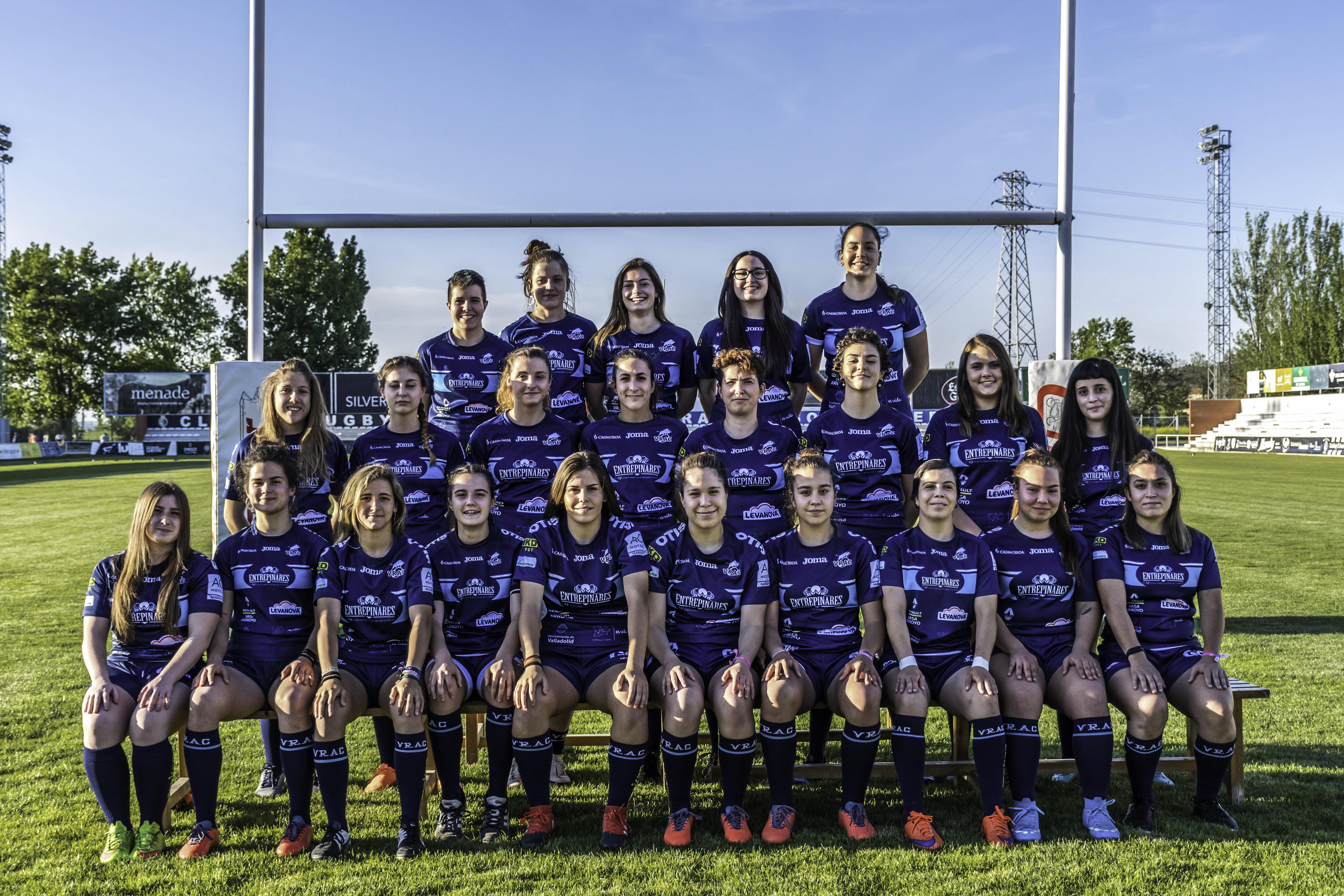 El VRAC Femenino disputa el Challenge 7s Copa de la Reina en A Coruña