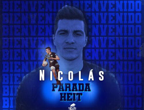 Nico Parada, sexta incorporación